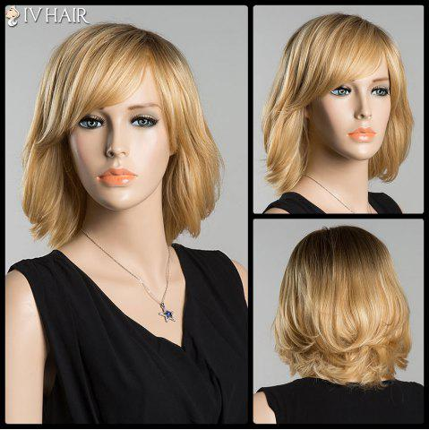 Outfit Short Skilful Side Bang Straight Siv Human Hair Wig