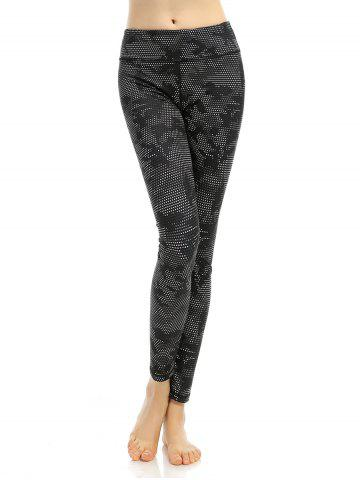 Hot Printed High Stretchy Running Leggings