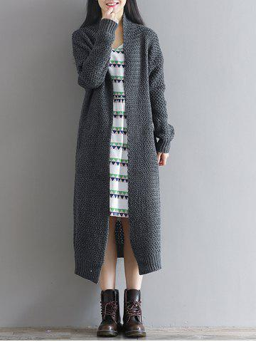 Outfit Loose Textured Knitted Duster Cardigan