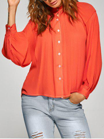 New Loose Ruched Shirt