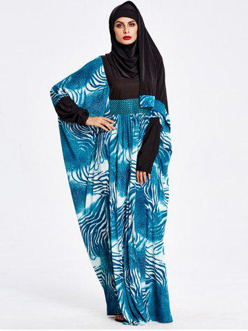 Latest Muslim Hooded Loose Maxi Arabic Dress
