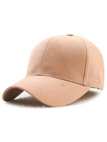 Buy Hot Sale Outdoor Adjustable Pure Color Baseball Cap