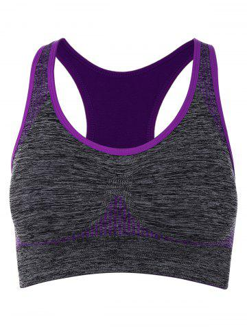 Shop Racerback Padded Gym Sports Bra