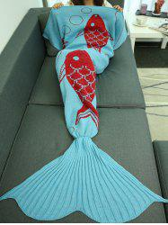 Super Soft Sleeping Bag Bed Sofa Wrap Mermaid Blanket -