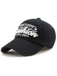Outdoor Adjustable Letters Embroidery Baseball Cap -