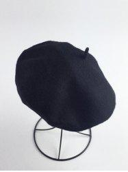 Retro Art Painter Felt Beret - Noir