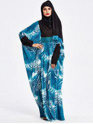 Muslim Hooded Loose Maxi Arabic Dress -