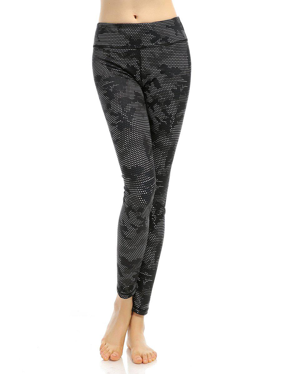 Outfits Printed High Stretchy Running Leggings