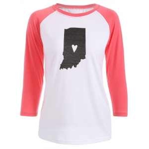 3/4 Sleeve Baseball T Shirt