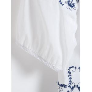 Embroidered Cotton Dress -