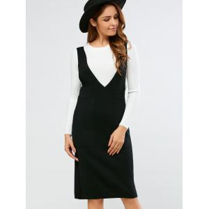 Double Pocket Brace Dress -
