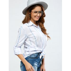 Strip Loose Shirt -