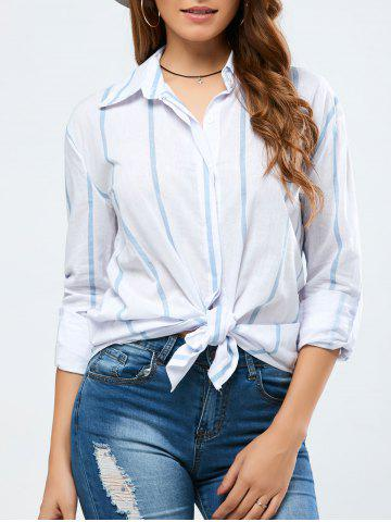 Best Strip Loose Shirt
