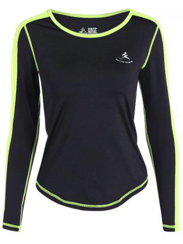 Buy Fit Neon Color  Pullover T-Shirt - XL NEON GREEN Mobile