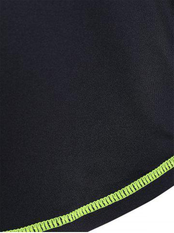 Affordable Fit Neon Color  Pullover T-Shirt - XL NEON GREEN Mobile
