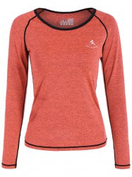 Heather Pullover T-Shirt - Saumon