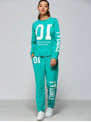 Funny Sweatshirt and Jogger Pants -