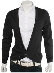 Slimming One Button V-Neck Cardigan -