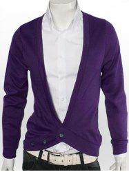 Slimming One Button V-Neck Cardigan