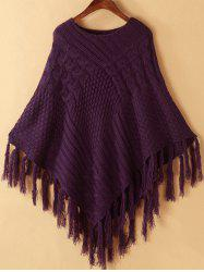 Tassels Cape Sweater -