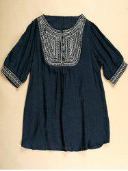 Embroidered Tunic Top -