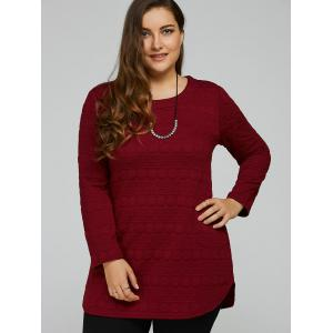 Long Sleeve Plus Size Tunic Top