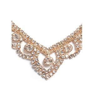 Strass Hollowed ensemble de bijoux -
