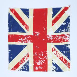 Casual Square England Flag Bandana - RED
