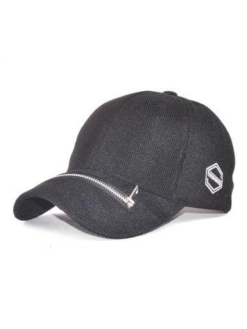 Outfit Outdoor Adjustable Zipper S Letters Baseball Cap