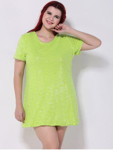 Discount Sequined Shift Dress