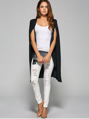 Cheap Long Capelet Blazer