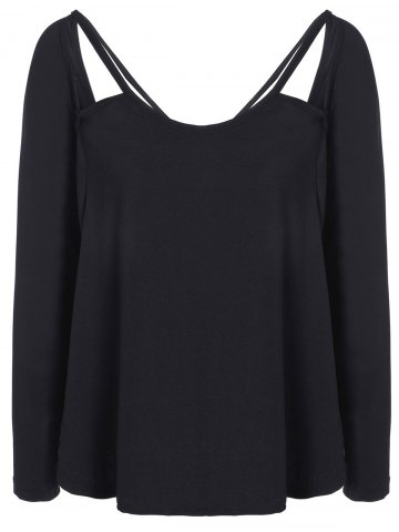 Sale Cut Out Loose Casual T-Shirt