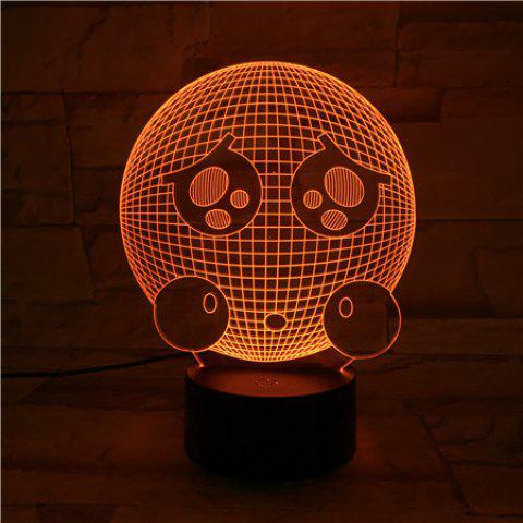 Sale 3D Visual Color Changing Room Atmosphere LED Night Light