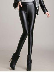 Skinny High Waisted Faux Leather Pants
