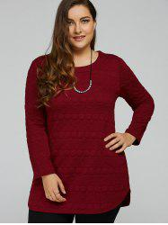 Long Sleeve Plus Size Tunic Top -