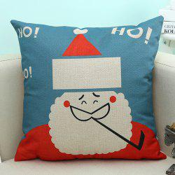 Cartoon Christmas Santa Claus Printed Home Decor Pillow Case