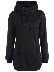 Long String Casual Long Hoodie