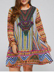 Plus Size Tunic Dashiki Dress
