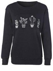 Cactus Fitting Sweatshirt -