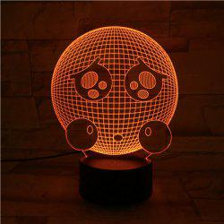 3D Visual Color Changing Room Atmosphere LED Night Light