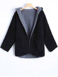 Hooded Double Side Cashmere Overcoat