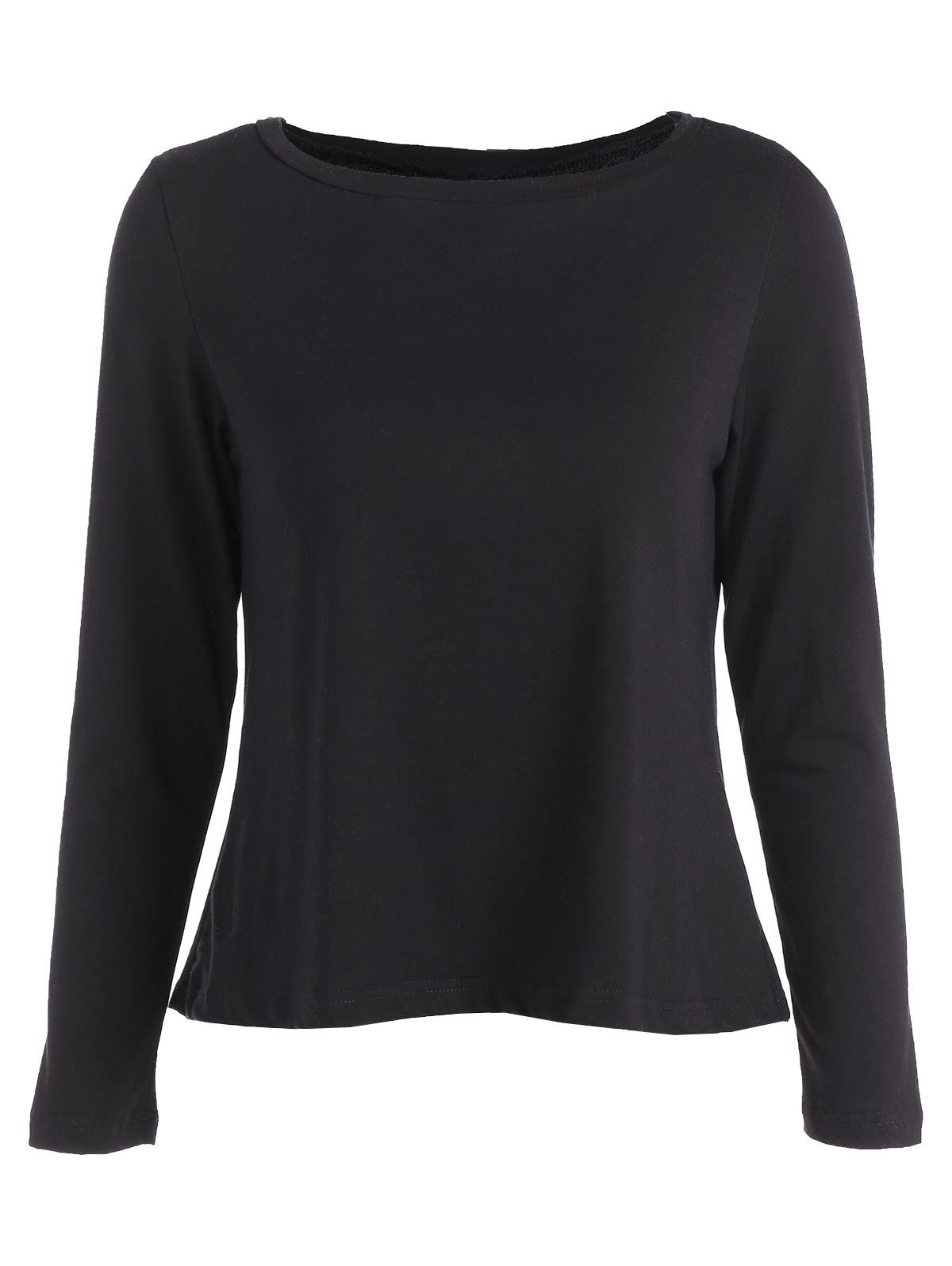 Best Loose Lace Spliced T-Shirt