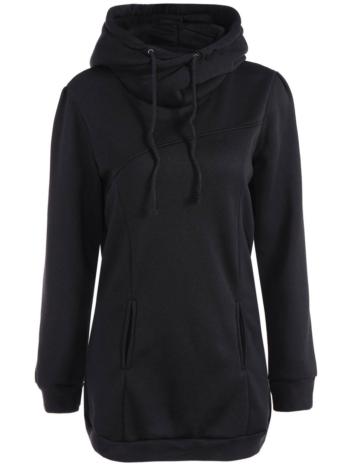 Online Long String Casual Long Hoodie