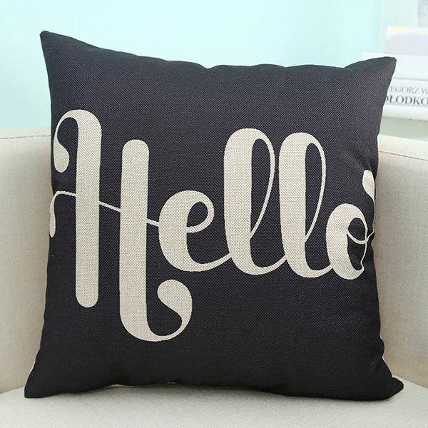 Fashion Wholesale Letter Printed Sofa Cushion Pillow Case