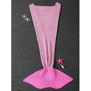 Super Soft Antipilling Sleeping Bag Kids Wrap Mermaid Blanket