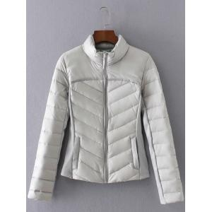 Slim  Fit Padded Down Jacket