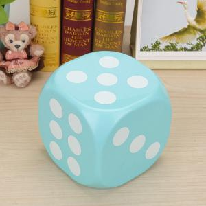 Household Dice Shape Extractive Tissue Storage Box - BLUE