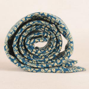 Leaf Print Tie Pocket Square and Bow Tie -