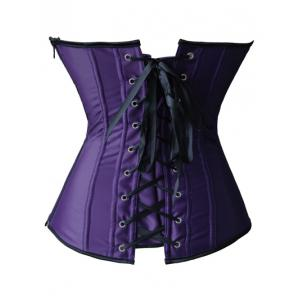 Applique Corset + Tiered Mesh Skirt Twinset -