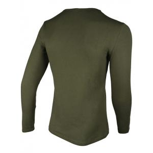 Crew Neck Simple Slimming Long Sleeve T-Shirt -